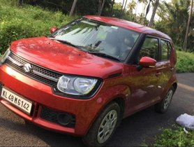2018 Maruti Suzuki Ignis 1.2 Delta MT for sale at low price