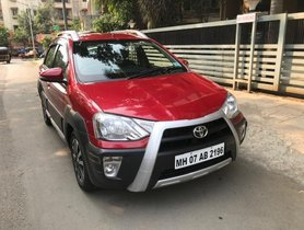 Used Toyota Etios Cross 1.5L V 2016 MT for sale