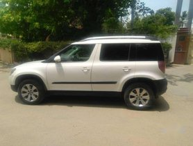 Used Skoda Yeti Elegance MT car at low price