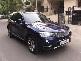 2016 BMW X3 xDRive 20d xLine AT Diesel or sale in Dehradun