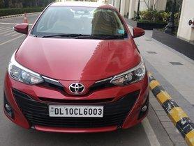 2018 Toyota Yaris V Diesel AT for sale in New Delhi