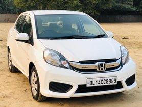 2016 Honda Amaze S i-Vtec Petrol MT for sale in New Delhi