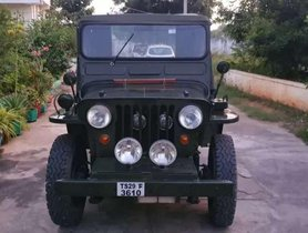2002 Mahindra Willys MT for sale at low price