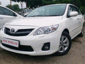 2013 Toyota Corolla Altis MT for sale