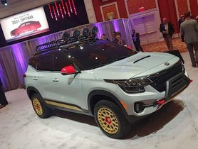 Kia Showcased Two Off-Road Versions of Seltos At Dealership Meet