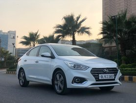 2018 Hyundai Fluidic Verna SX Diesel MT for sale in New Delhi