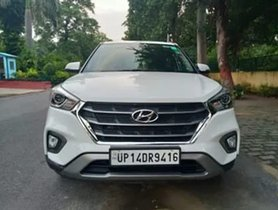 2018 Hyundai Creta 1.6 SX Plus Petrol AT for sale in New Delhi