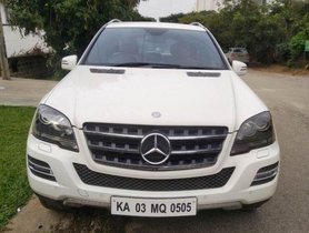 Used Mercedes Benz M Class ML 350 CDI AT car at low price