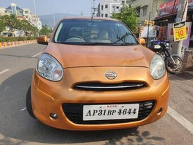 Used Nissan Micra MT car at low price