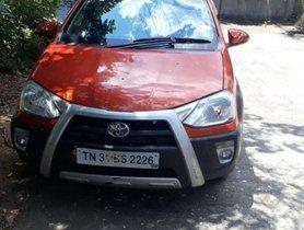 Used Toyota Etios Cross AT car at low price