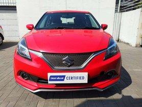 Used Maruti Suzuki Baleno RS MT for sale at low price