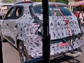 BS6 Renault Kwid Spied Ahead Of Launch