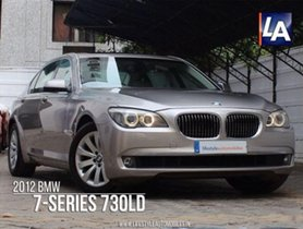 BMW 7 Series 730Ld AT 2012 for sale