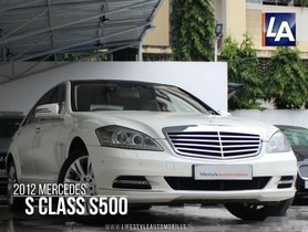 Used 2012 Mercedes Benz S Class S 500 AT 2005 2013 for sale