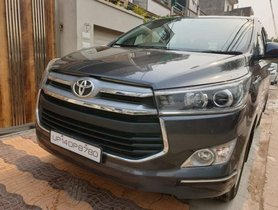 Used Toyota Innova Crysta 2.4 VX MT 8S car at low price