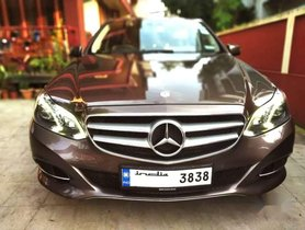 Used 2014 Mercedes Benz E Class MT for sale