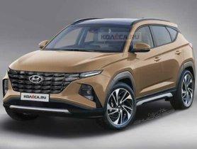 2021 Hyundai Tucson Rendered On Spy Images