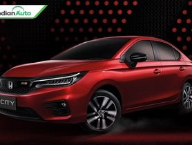 2020 Honda City RS Could Be Launched In India As Well