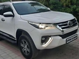 Used Toyota Fortuner AT at low price