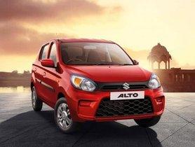 Maruti Alto Touches A Sales Milestone Of 38 Lakh Units