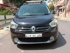 Used Renault Lodgy MT car at low price