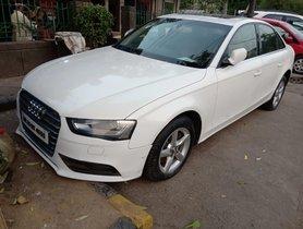 2012 Audi A42.0 TDI Diesel AT for sale in New Delhi