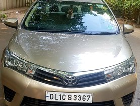 2014 Toyota Corolla Altis D-4D J Petrol MT for sale in New Delhi
