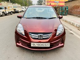 2015 Honda Amaze S Diesel MT for sale in New Delhi