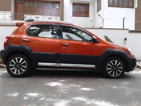 2015 Toyota Etios Cross MT for sale at low price
