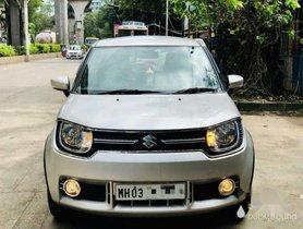 Used 2017 Maruti Suzuki Ignis 1.2 Zeta MT for sale