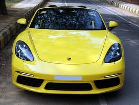 2018 Porsche Boxster MT for sale at low price