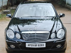 Mercedes Benz E-Class AT 1993-2009 2008 for sale