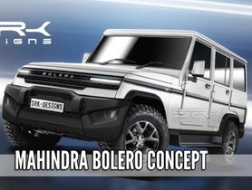 2020 Mahindra Bolero Modified Concept Looks Butch In This Speculative Rendering