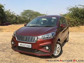 Maruti Ertiga Electric Might Be Launched In India Soon