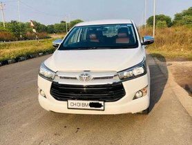 Used Toyota Innova Crysta AT car at low price