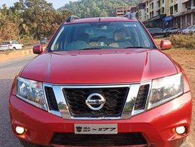 Used Nissan Terrano XL MT car at low price