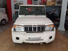 Used Mahindra Bolero SLE MT car at low price