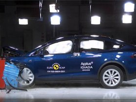 Tesla Model X Awarded 5-star Rating From Euro NCAP