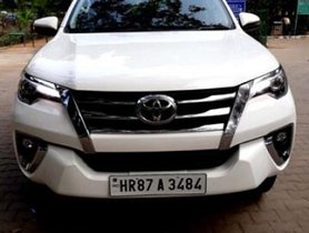 Used Toyota Fortuner 2.8 2WD MT car at low price