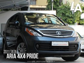 2011 Tata Aria MT for sale at low price