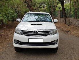 2012 Toyota Fortuner 3.0 Diesel AT for sale in New Delhi