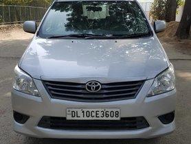 2013 Toyota Innova 2.5 G Diesel MT for sale in New Delhi