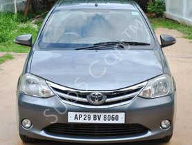 Toyota Etios 2013-2014 V MT in Hyderabad