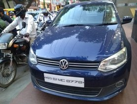 Used Volkswagen Vento Diesel Highline 2012 MT for sale in Bangalore