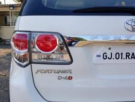 Used Toyota Fortuner 4x2 AT car at low price in Ahmedabad