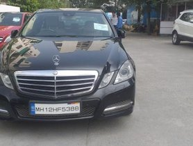 2011 Mercedes Benz E-Class AT 2009-2013 for sale in Pune