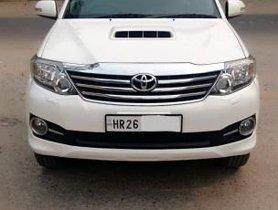 2015 Toyota Fortuner 4x2 Manual MT for sale in New Delhi