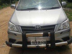Toyota Innova 2.5 G 7 STR BS-IV, 2014, Diesel MT for sale in Hyderabad