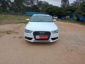 Used Audi A4 2.0 TDI Multitronic 2012 AT for sale in Bangalore