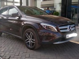 2015 Mercedes Benz GLA Class AT for sale at low price in Bangalore